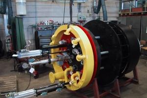 Реконструкция котла ПТВМ-100 с заменой горелок